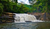 Thommankuthu waterfall