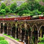 Thirteen- Arch Railway Bridge, Punalur