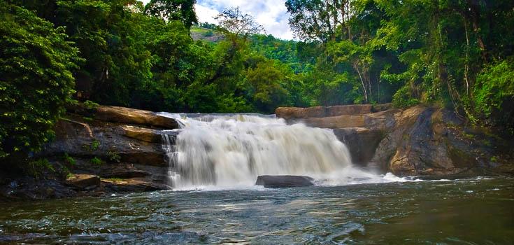 Thommankuthu waterfall