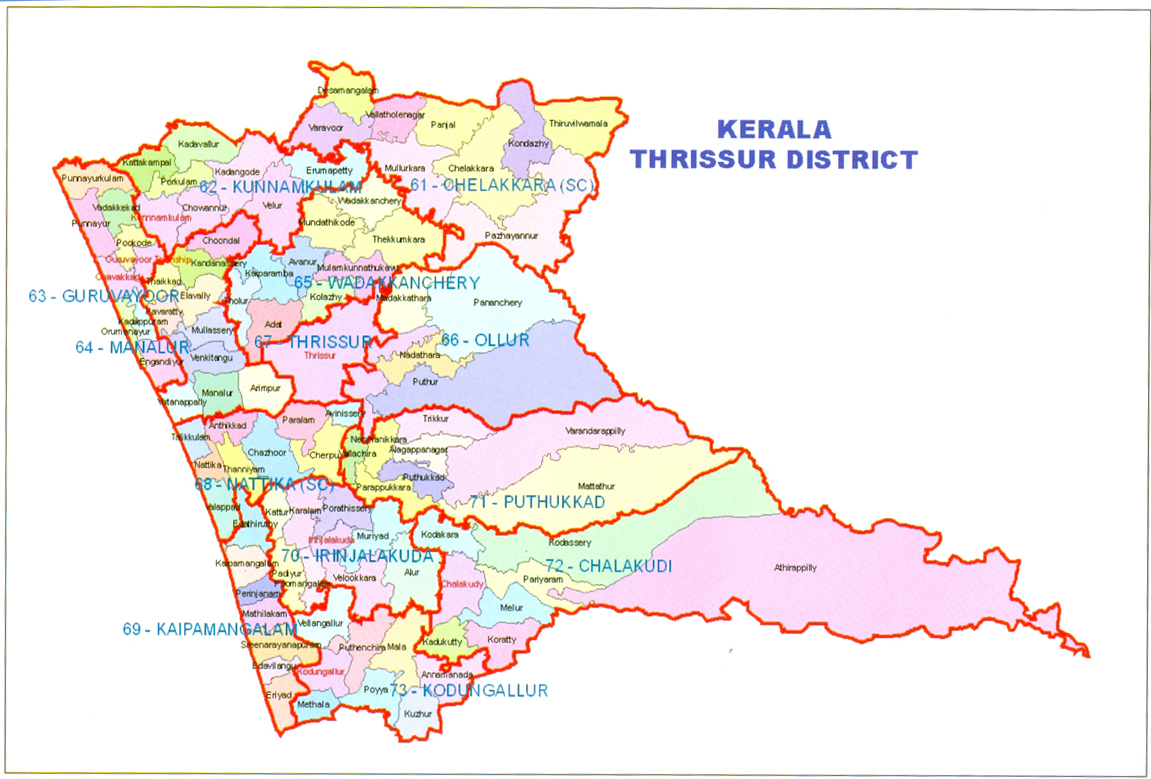 Thrissur District of Kerala - Thrissur District Guide