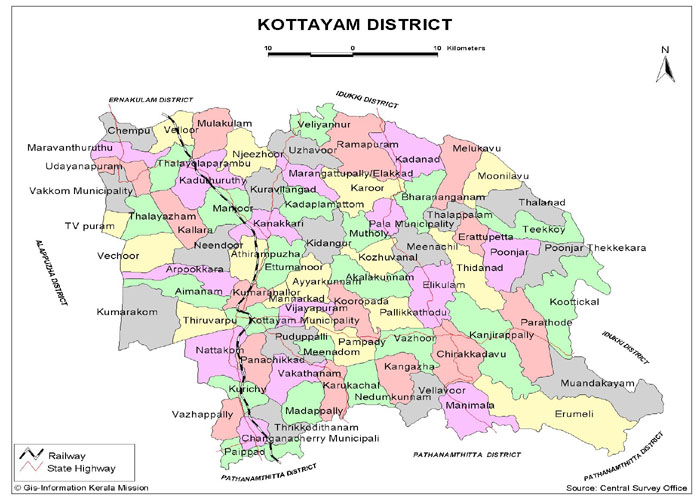 kottayam the land of letters latex Also read: 6 weekend getaways from thiruvananthapuram the city is acclaimed as the land of lakes, letters and latex since it was the first ever completely literate city of india and is a hub of rubber and spice trade.