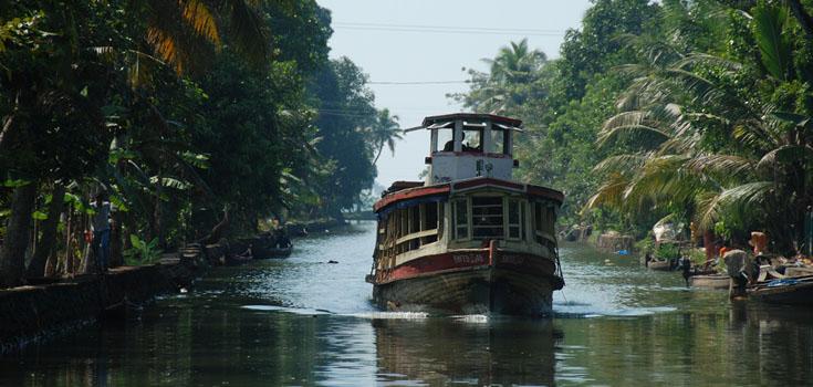 kerala water transport