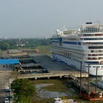 Cruise Ship in Cochin Port
