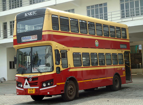 KSRTC Double Decker Bus Service for Heritage Tours in Kerala