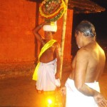 Thidambu Nritham with fire