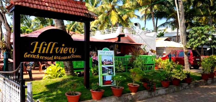 Hill View Beach Resort Varkala Contact