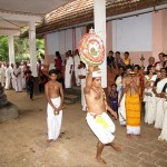 Thitambu Nritham performed at Sree Someswari Temple