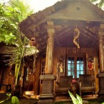 Wood house ayurvedic beach resort