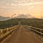 Bridge over Parambikulam Dam