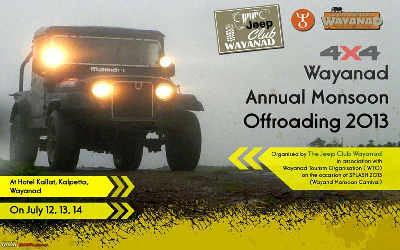 Wayanad Annunal Monsoon Offroading Event