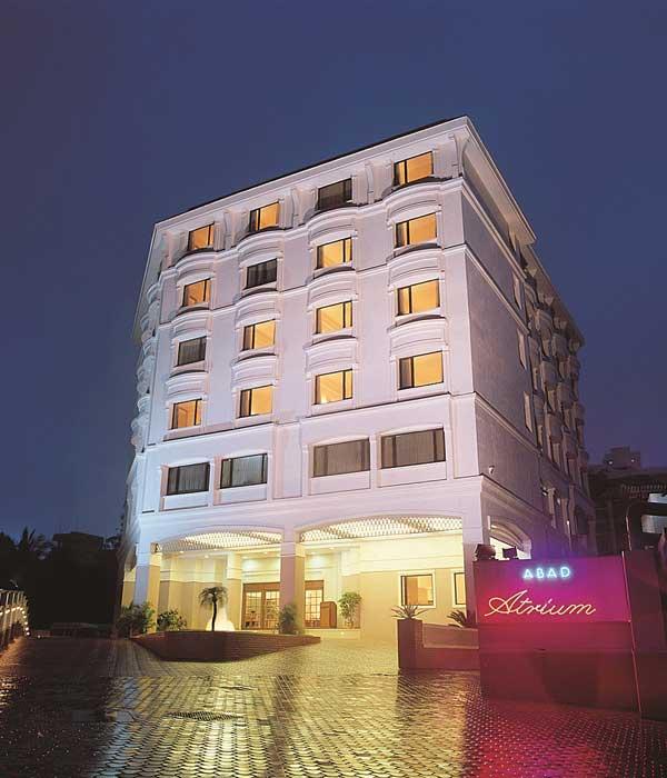 Hotel Abad Atrium in Cochin