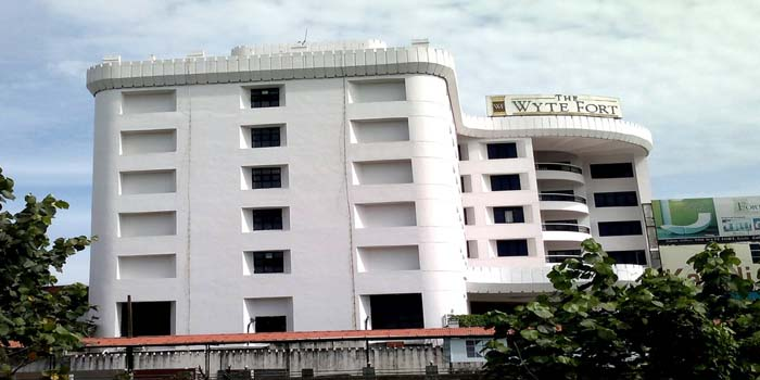 Hotel Whyte Fort in Cochin