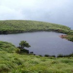 Heart Shaped Lake in Chembra Peaks