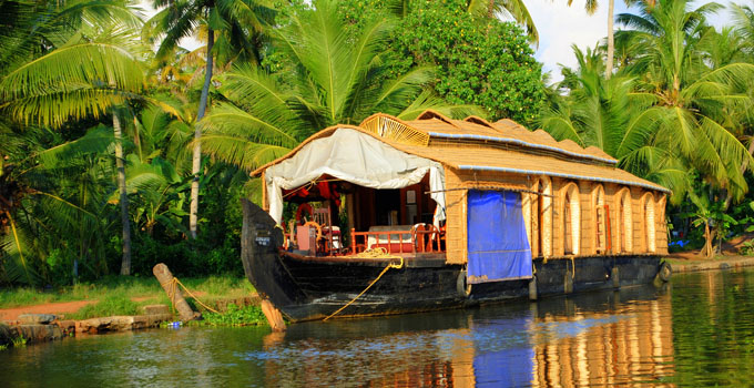 Houseboats in Kottayam