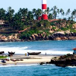 Kovalam Lighthouse Beach
