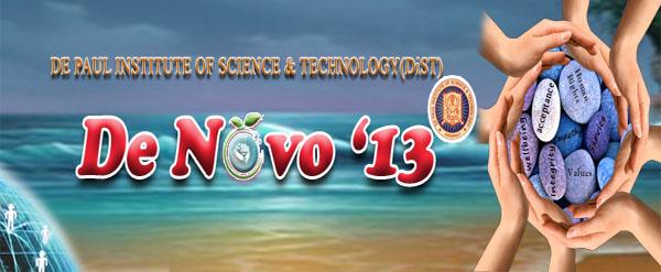 DE NOVO 2013 International Conference