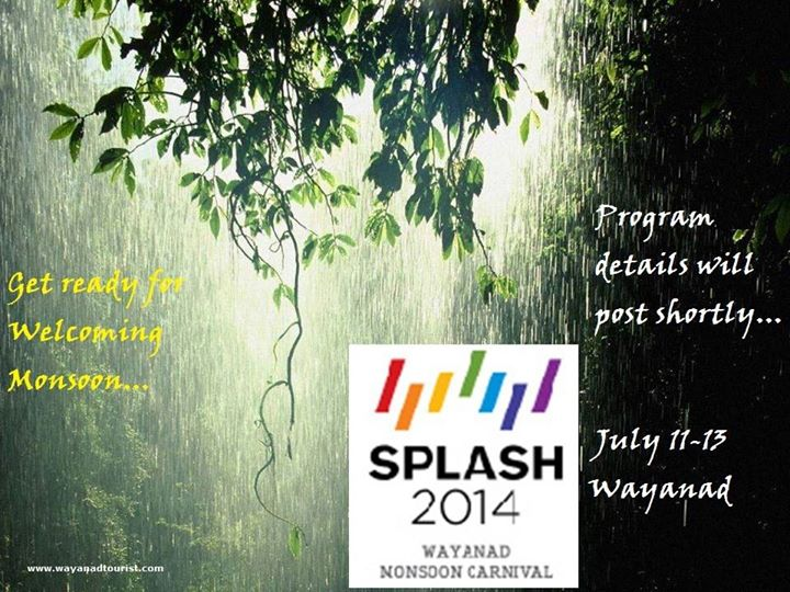 Splash 2014 Wayanad Monsoon Carnival