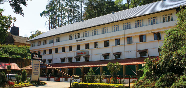 Hotel Sujatha Inn in Munnar